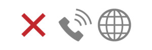 通信通話ができない